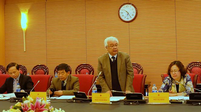 Tham mưu dự thảo báo cáo việc thực hiện chính sách pháp luật về giáo dục nghề nghiệp