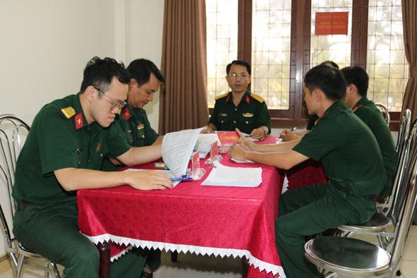 Tổng điều tra dân số và nhà ở: Bộ Chỉ huy quân sự tỉnh về đích sớm