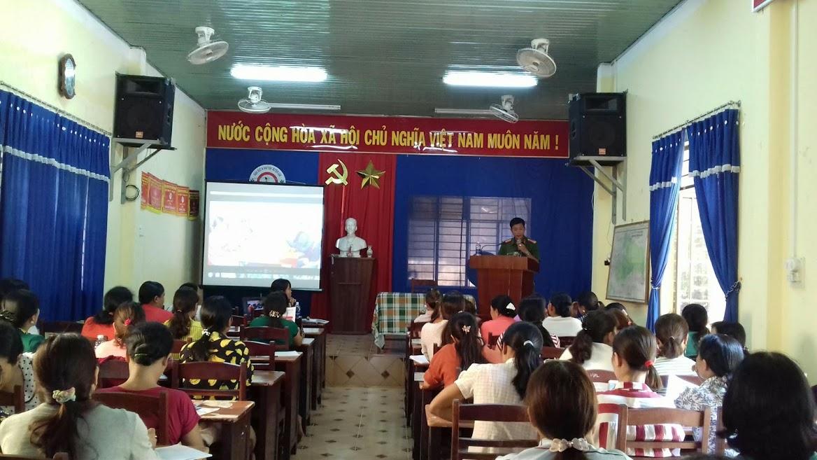 Hội LHPN huyện Lắk tập huấn bồi dưỡng, kiến thức, kỹ năng công tác Hội cơ sở đợt I năm 2019