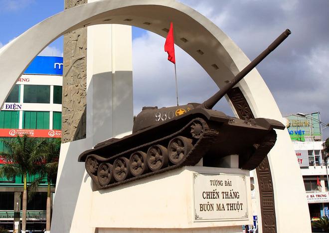 Những bí mật về chiếc xe tăng số hiệu 980 trên Tượng đài chiến thắng Buôn Ma Thuột