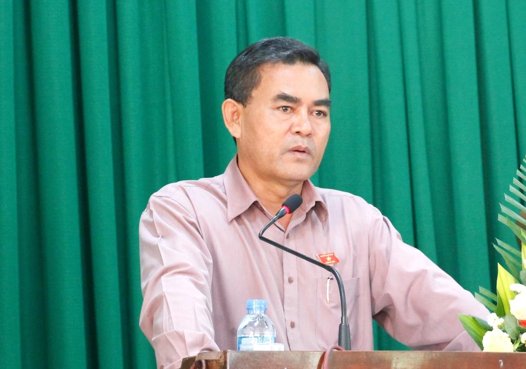 Đoàn Đại biểu Quốc hội tỉnh tiếp xúc cử tri thành phố Buôn Ma Thuột