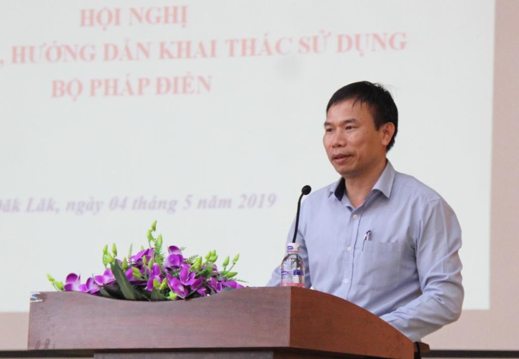 Giới thiệu, hướng dẫn khai thác, sử dụng Bộ Pháp điển của Việt Nam