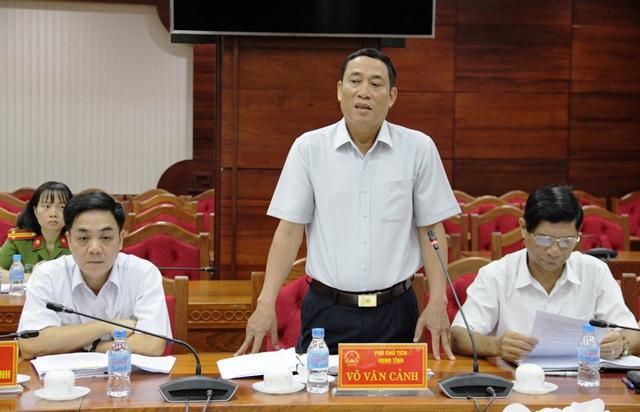 Đoàn giám sát Quốc hội làm việc với UBND tỉnh về hoạt động giám định tư pháp