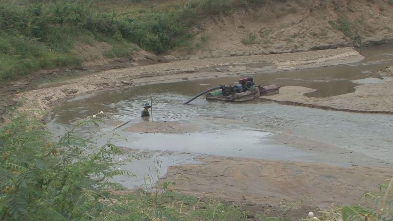 Công an tỉnh tăng cường phát hiện và xử lý tình trạng khai thác cát trái phép