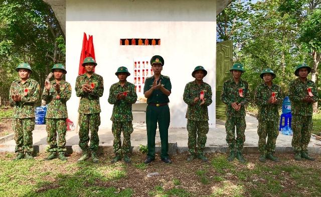 BĐBP tỉnh Đắk Lắk: Tiểu đoàn Huấn luyện – Cơ động tổ chức kiểm tra bắn súng AK