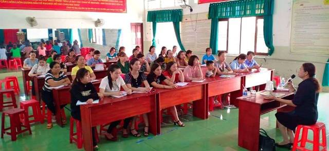 """Hội LHPN thành phố Buôn Ma Thuột nhiều hoạt động triển khai Năm thi đua 2019 """"An toàn cho phụ nữ và trẻ em"""""""