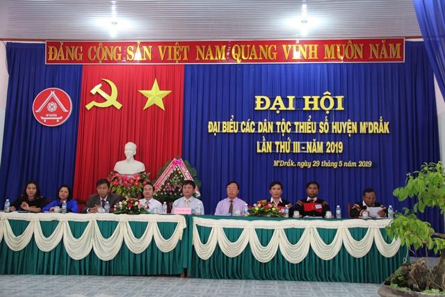 Đại hội Đại biểu các dân tộc thiểu số huyện M'Đrắk lần thứ III – năm 2019