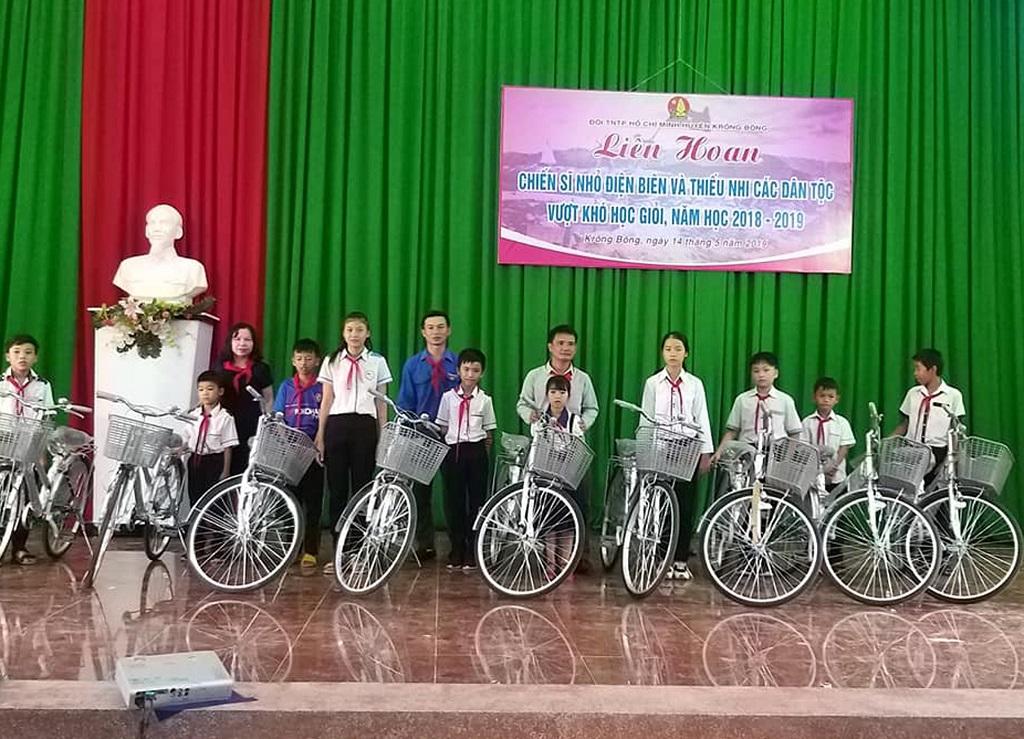 Liên hoan Chiến sỹ nhỏ Điện Biên và thiếu nhi các dân tộc vượt khó học giỏi huyện Krông Bông năm học 2018 - 2019