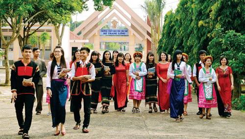 Bố trí vốn cho các trường phổ thông dân tộc nội trú giai đoạn 2016 – 2020 của tỉnh