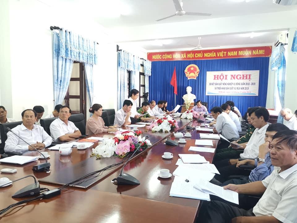 Huyện M'Đrắk: Sơ kết vụ Đông Xuân 2018-2019, triển khai sản xuất vụ mùa 2019