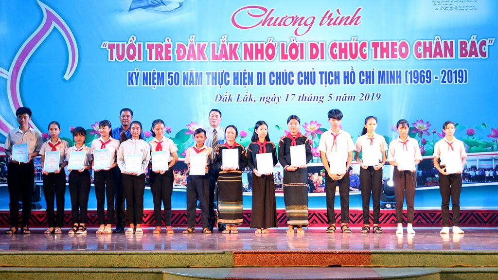"""Chương trình """"Tuổi trẻ Đắk Lắk nhớ lời di chúc theo chân Bác"""""""
