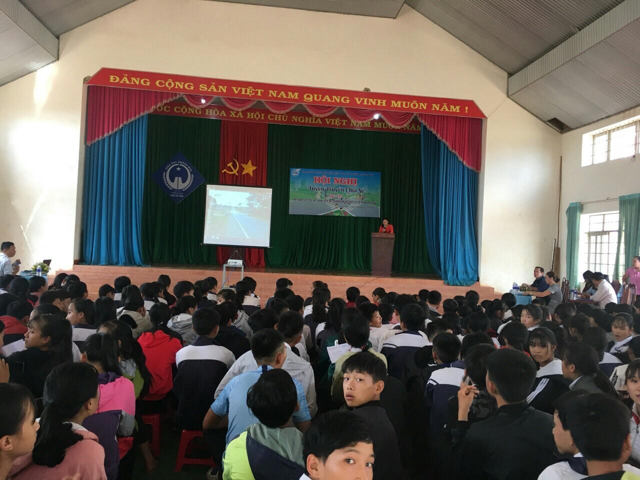 """Hội Liên hiệp Phụ nữ huyện Krông Búk tổ chức Hội nghị tuyên truyền chia sẻ """"An toàn cho trẻ em"""" năm 2019"""