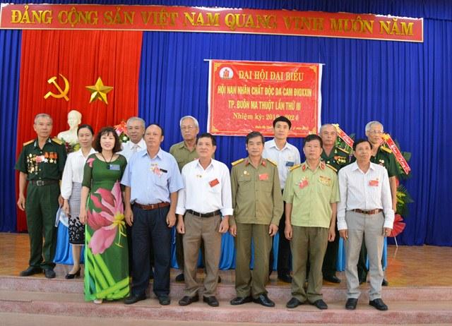 Đại hội đại biểu Hội Nạn nhân chất độc da cam/Dioxin thành phố Buôn Ma Thuột lần thứ III, nhiệm kỳ 2019 - 2024