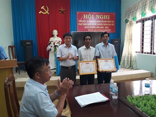 Huyện ủy M'Đrắk: Tổng kết 15 năm hoặt động của Đội công tác phát động quần chúng chuyên trách, giai đoạn 2004- 2019