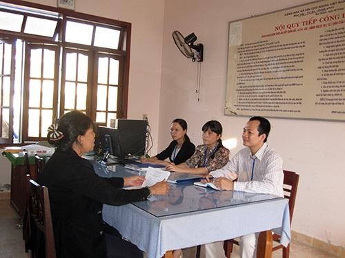 Tổ chức tiếp công dân phục vụ kỳ họp thứ 7 Quốc hội khóa XIV