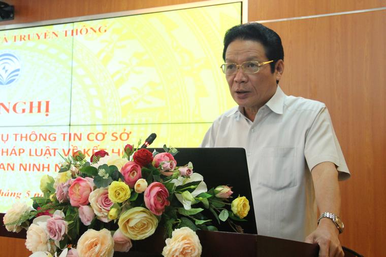 Hội nghị trực tuyến tập huấn nghiệp vụ thông tin cơ sở và bồi dưỡng chính sách, pháp luật về kết hợp kinh tế với quốc phòng, an ninh năm 2019.