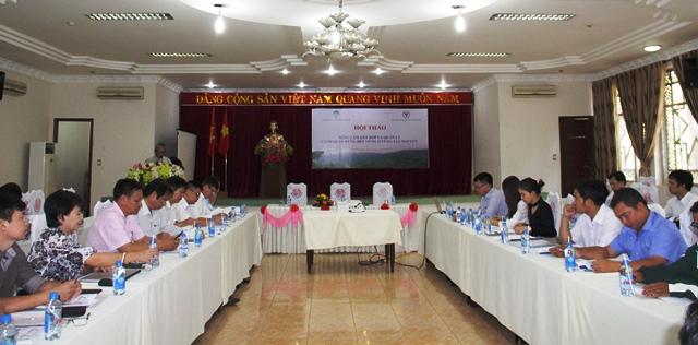 Hội thảo mô hình Nông lâm kết hợp và quản lý cảnh quan bền vững ở vùng Tây Nguyên