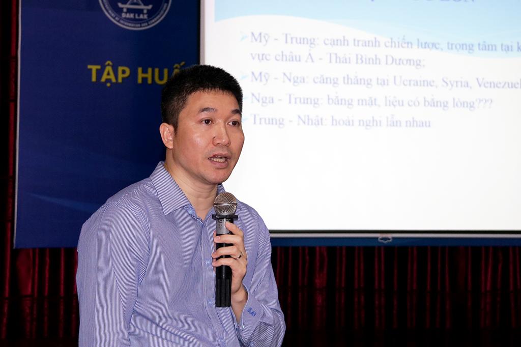 Hội nghị tập huấn công tác thông tin đối ngoại năm 2019