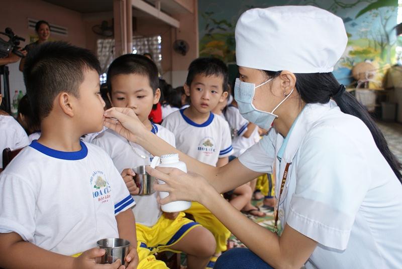 Tỉnh Đắk Lắk: triển khai Chiến dịch bổ sung Vitamin A và kết hợp tẩy giun cho trẻ đợt I năm 2019