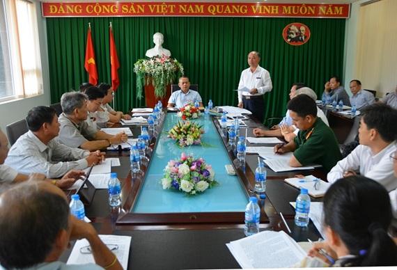 Thường trực Thành ủy Buôn Ma Thuột, giao ban khối Nội chính tháng 5 và triển khai một số nhiệm vụ trọng tâm tháng 6 năm 2019.