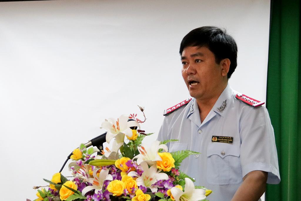 Thanh tra tỉnh tổ chức tập huấn sử dụng Hệ thống Cơ sở dữ liệu Quốc gia về khiếu nại, tố cáo