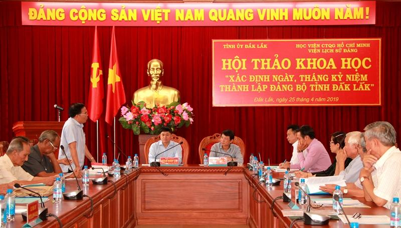 Tỉnh ủy Đắk Lắk  thống nhất Ngày  Kỷ niệm thành lập Đảng bộ tỉnh Đắk Lắk 23/11/1940