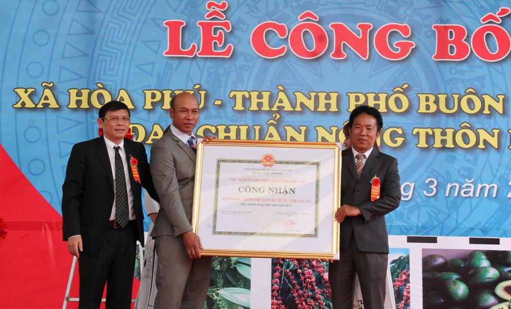 Thành phố Buôn Ma Thuột hoàn thành nhiệm vụ xây dựng nông thôn mới