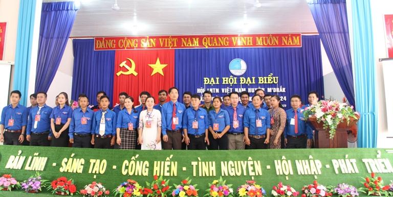 Đại hội đại biểu Hội LHTN huyện M'Đrắk lần thứ VIII, nhiệm kỳ 2019 - 2024