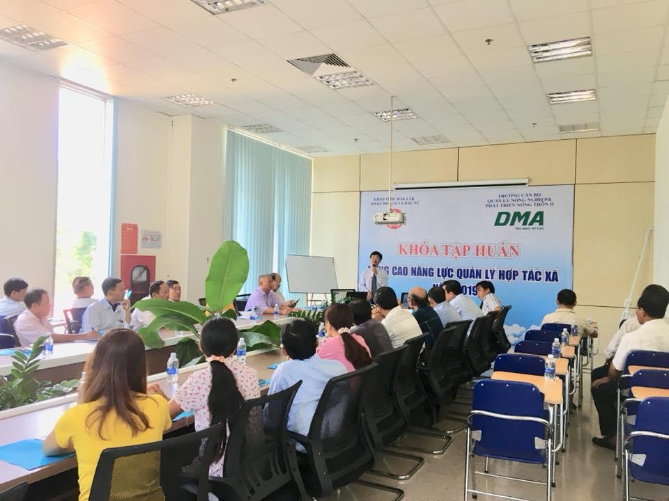 Sở Kế hoạch và Đầu tư tập huấn nâng cao năng lực quản lý hợp tác xã năm 2019