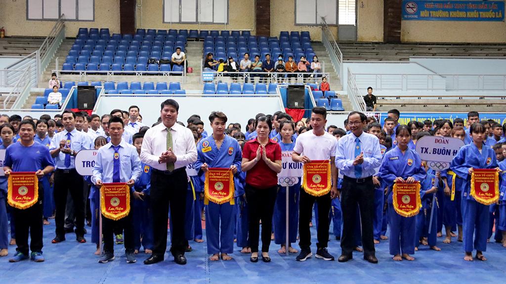 Hơn 200 vận động viên tham gia Giải Vovinam vô địch các lứa tuổi tỉnh Đắk Lắk năm 2019