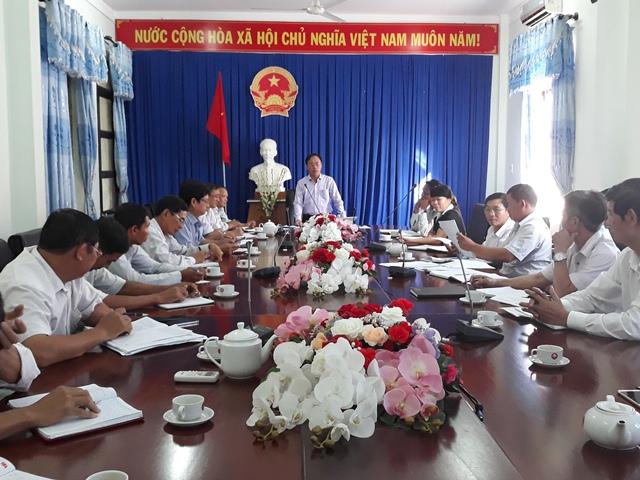 UBND huyện M'Đrắk triển khai công tác phòng chống dịch tả lợn châu Phi