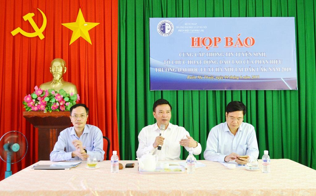 Phân hiệu Trường Đại học Luật Hà Nội tại Đắk Lắk tuyển 200 chỉ tiêu hệ chính quy năm học 2019 - 2020
