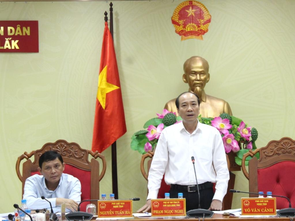 UBND tỉnh họp thông qua các nội dung trình Kỳ họp thứ 8, HĐND tỉnh khoá IX