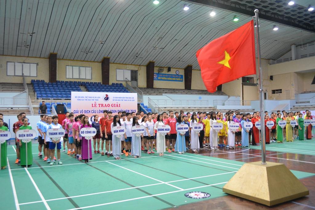 Khai mạc Giải vô địch Cầu lông trẻ toàn quốc năm 2019
