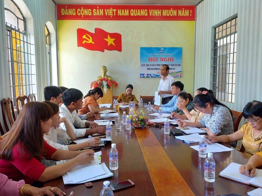 Hội LHPN huyện Krông Ana triển khai nhiệm vụ 6 tháng cuối năm 2019