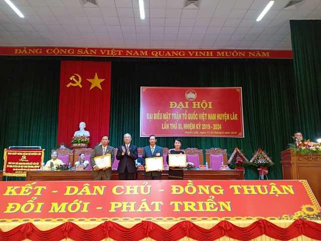 Đại hội đại biểu MTTQ huyện Lắk lần thứ XI, nhiệm kỳ 2019 – 2024
