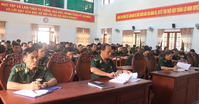 Bộ đội Biên phòng tỉnh thông báo kết quả Hội nghị lần thứ 10 BCHTW Đảng khóa XII