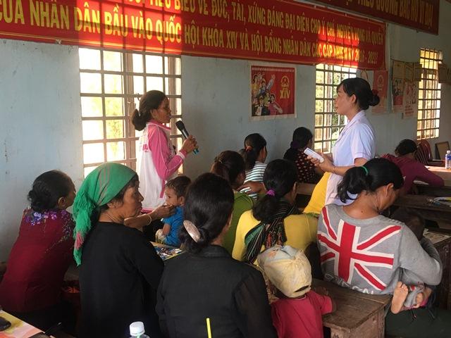 Truyền thông chăm sóc sức khỏe bà mẹ và trẻ sơ sinh tại Bệnh viện Đa khoa huyện Lắk