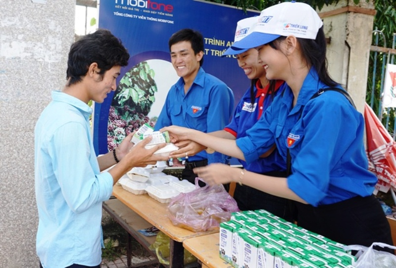 """Khoảng 600 thanh niên tình nguyện tham gia """"Tiếp sức mùa thi"""" năm 2019"""