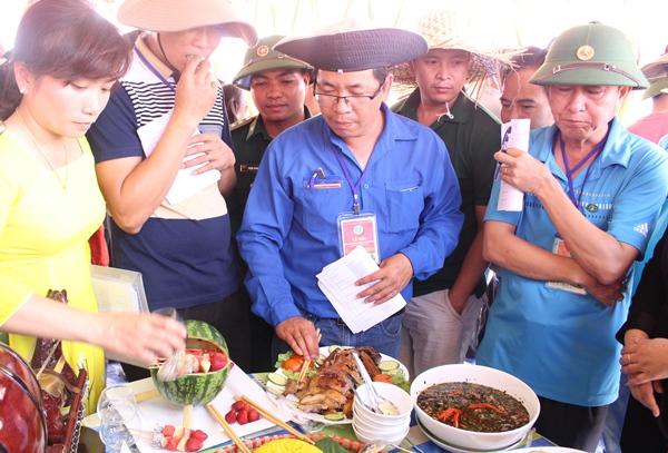 Hội thi văn hóa ẩm thực các dân tộc huyện Buôn Đôn.
