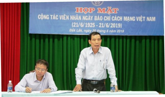 Trung tâm quản lý Cổng TTĐT tỉnh gặp mặt cộng tác viên