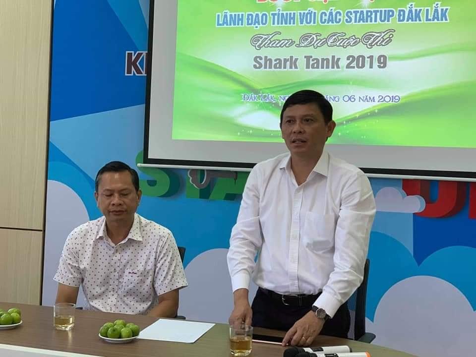 Lãnh đạo UBND tỉnh gặp gỡ Startup Đắk Lắk tham dự Chung kết Shark Tank mùa thứ 3 năm 2019