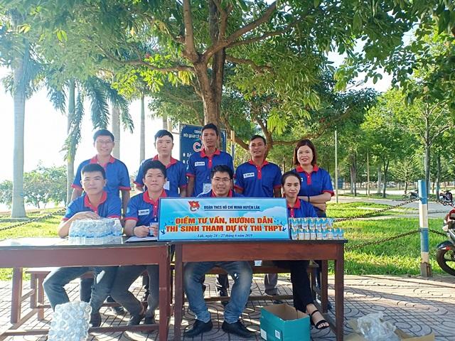 Huyện đoàn Lắk triển khai chương trình Tiếp sức mùa thi năm 2019