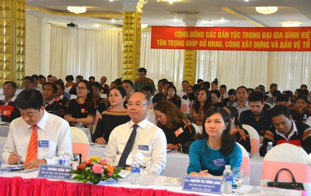 Đại hội đại biểu các dân tộc thiểu số thành phố Buôn Ma Thuột lần thứ III năm 2019