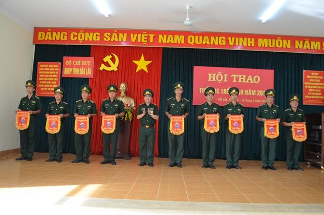 Hội thao Thể dục thể thao BĐBP tỉnh Đắk Lắk năm 2019