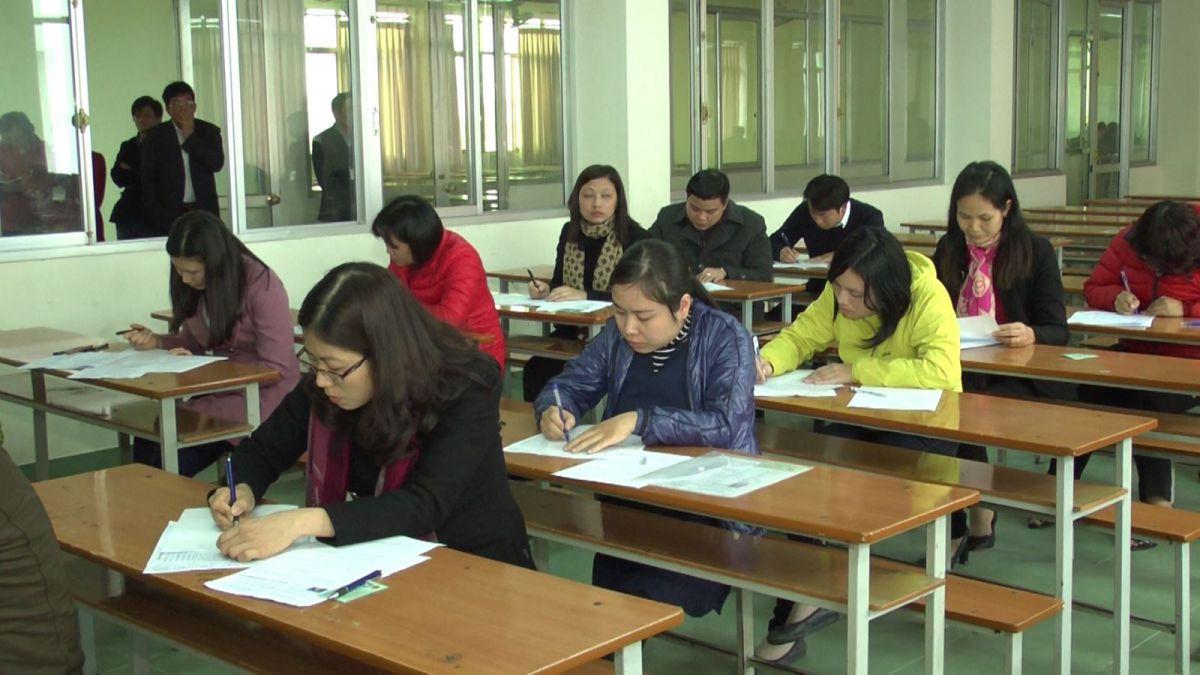 Thông báo triệu tập dự thi kỳ thi nâng ngạch Thanh tra viên chính