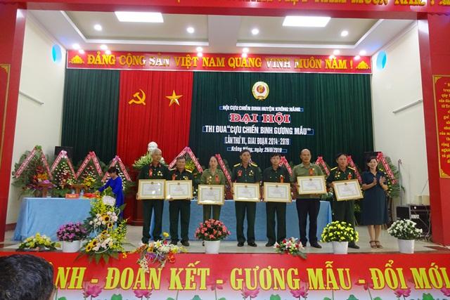 """Huyện Krông Năng : Đại hội thi đua """"Cựu chiến binh gương mẫu"""" lần thứ VI, giai đoạn 2014 - 2019"""