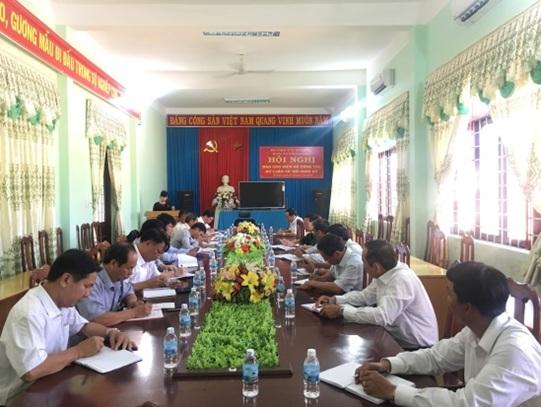 Hội nghị báo cáo viên Huyện ủy M'Đrắk và công tác nắm bắt dư luận xã hội định kỳ