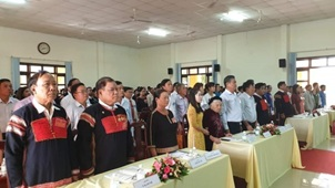 Đại hội Đại biểu dân tộc thiểu số huyện Cư Kuin lần thứ III năm 2019