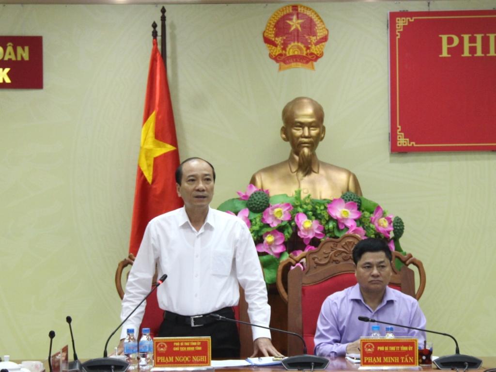 UBND tỉnh họp Phiên thường kỳ tháng 6/2019